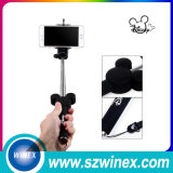 Extended Selfie Stok,  Wireless Monopod, Bluetooth Selfie Stick De Houder van de camera