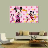 Картина маслом мыши Mickey напечатанная Inkjet для домашнего украшения