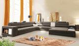 Forma Home da mobília para o jogo do sofá do couro da sala de visitas