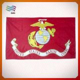 Bandeira 100% do cabo flexível do poliéster para anunciar (HYADF-AF028)