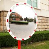 Acryl-PMMA runder weißer roter reflektierender konvexer Spiegel des Cer-