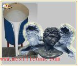 ギプスの彫像の製品のための液体のシリコーン材料を作る型