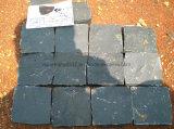 Черные Pavers гранита, вымощая камень, Kerbstone гранита, кубический