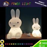 LEDライトが付いているイースター装飾のために動物の照明Miffyウサギを熱販売すること