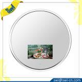 Tevê redonda inoxidável nova do espelho do frame