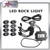 Des RGB-LED Hülsen9w Underbody-Auto-Boot Felsen-Licht-4/6/8/12