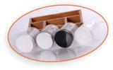 250ml de transparante Hoogwaardige Plastic Kruik van Schoonheidsmiddelen (NJ0705)