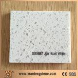 Камень кварца малого кварца серии зерна искусственний белый