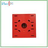 Vidrio de la rotura del pulsador del interruptor la alarma de incendio