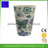 Bambusfaser-haltbarer Entwurfs-biodegradierbares englisches Tee-Cup