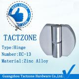 De Facotory charnières en alliage de zinc d'accessoires de douche de compartiments de toilette directement