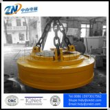Guindaste que sere o ímã de levantamento da forma oval para segurar a sucata de aço MW61-400240L/1-75