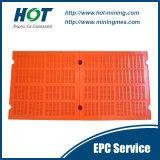 Kundenspezifisches haltbares PU-Ineinander greifen-Polyurethan-vibrierender Bildschirm-Panel