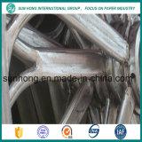 Fabricación de papel de piezas de molde cilíndrico