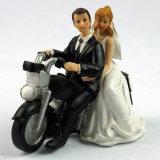 راتينج عروس وعريس تمثال صغير رومانسيّ عرس قالب [توبّر] زخرفة