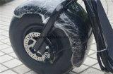 مدينة حركيّة [ستكك] [1000و] كثّ مكشوف بالغ كهربائيّة [سكوتر] 2 عجلة درّاجة ناريّة كهربائيّة