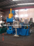 Sbj-360 Hydraulic Scrap Iron Chips Briquette Press (PLC automatico)