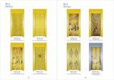 Elevador dourado do clássico do hotel de luxo da cor do sistema de controlo de Vvvf