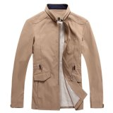 Vestuário de alta qualidade Men Tops Stand-up Collar Jacket Spring New Blazer