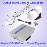 33dBm GSMの中継器900MHzネットワーク携帯電話のブスターGSM900MHzの中継器、ホームのためのGSMの中継器のブスター