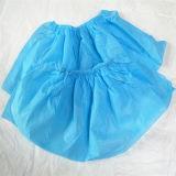 Non-Woven青い靴カバー使い捨て可能なShoecover