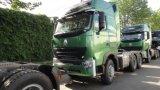 Cabeça do caminhão do trator de Sinotruk HOWO A7 420HP 6X4