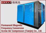hacia fuera compresor de aire del sector de la construcción del uso de la puerta