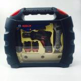 Blase, die für Bosch Hilfsmittel mit Kasten verpackt