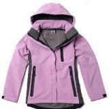 Softshell Jacket (C113) der wasserdichten Dame