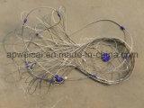 Système anti-vol de maille de corde d'acier inoxydable de protecteur de sac à dos)