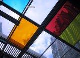 vidrio claramente laminado coloreado 10.38m m de 6.38m m