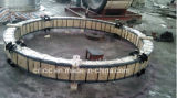 ロータリーキルンの大きい鍛造材のリング
