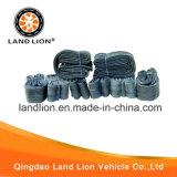 대중적인 돌 보행 패턴 기관자전차 타이어 4.10-18