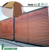 WPC imperméabilisent le revêtement composé en plastique en bois de mur