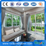Китай подгонял алюминий конструкции и цвета 6063 водоустойчивых двери сползая стекла T5