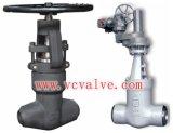 Valvola di globo d'acciaio forgiata ad alta pressione del dispositivo di tenuta a pressione