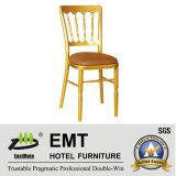 Chaise en acier professionnelle de banquet (EMT-818-AL)