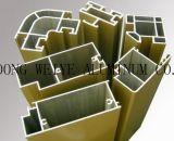 Profils en aluminium pour le mur rideau et le guichet
