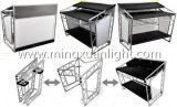 Qualitäts-faltbares bewegliches Aluminium DJ bündelt Stand