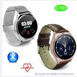Bluetooth 심박수 탐지를 가진 지능적인 시계 전화