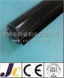 Profil en aluminium d'enduit de pouvoir noir de 6063 séries (JC-C-90003)