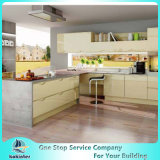 MDF/MFC/Plywood de Moderne Keukenkasten van de Raad van het Deeltje van Kok005