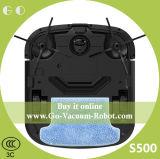 De intelligente Schoonmakende Robot Cacuum van het Huishouden met het Sterke Vegen van de Functie van de Zuiging Droge Natte (S500)