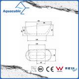Badezimmer-reine nahtlose freistehende acrylsauerbadewanne (AB6507)