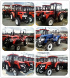 아프리카에 있는 High Quality Hot Sale를 가진 80HP 4WD Large Farm Tractor