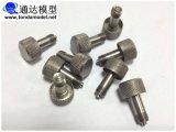 CNCの回転からのCNCの部品の表面によって扱われる鋼鉄部品