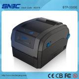 (BTP-3300E) 106mm USB Serial 병렬 이더네트 WLAN Barcode 직접 열 이동 레이블 인쇄 기계