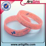 Progettare il braccialetto per il cliente variopinto speciale del silicone