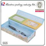 Коробка индикации упаковки коробки пер индикации бумаги коробки пер подарка карандаша древесины упаковывая пластичная (YSD16)