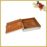 Caixa de presente de papel cosmética feita sob encomenda/caixa de cartão
